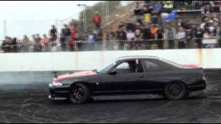R33 Skyline Punches A Rod Out at Gazzanats