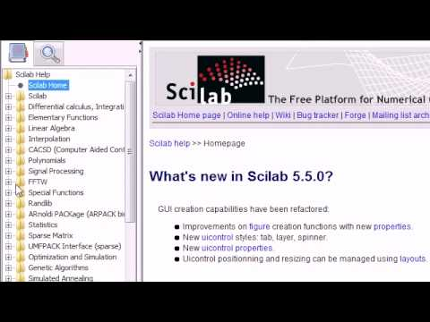 Scilab tutorial 1