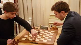 Dubov vs Karjakin, Super Tricky. Tal Memorial 2018