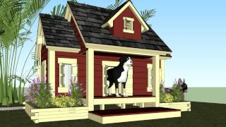 Dh301 - How To Build An Insulated Dog House - Dog House Plans