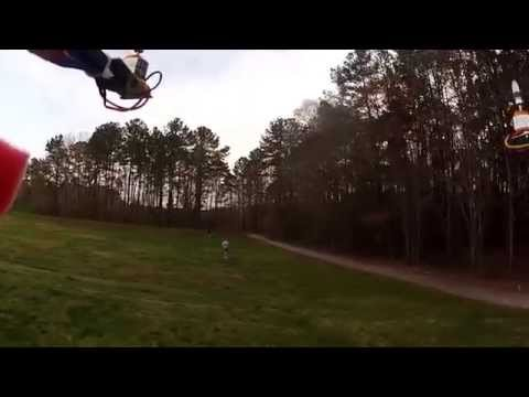 Custom Build H-Quad Flies for the Second Time at Bond Park