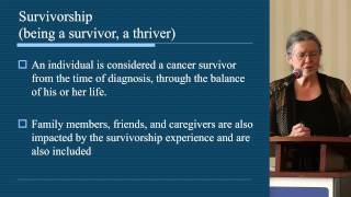Coping with the psychosocial aspects of cancer