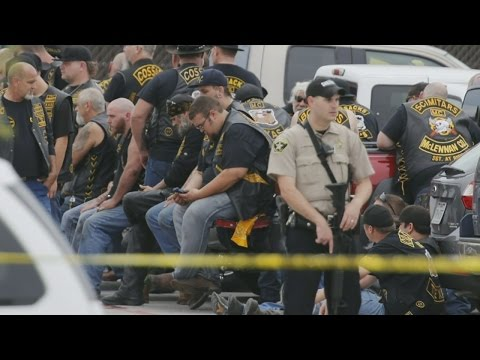 Nine Killed In Shootout Between Rival Biker Gangs from YouTube · Duration:  44 seconds