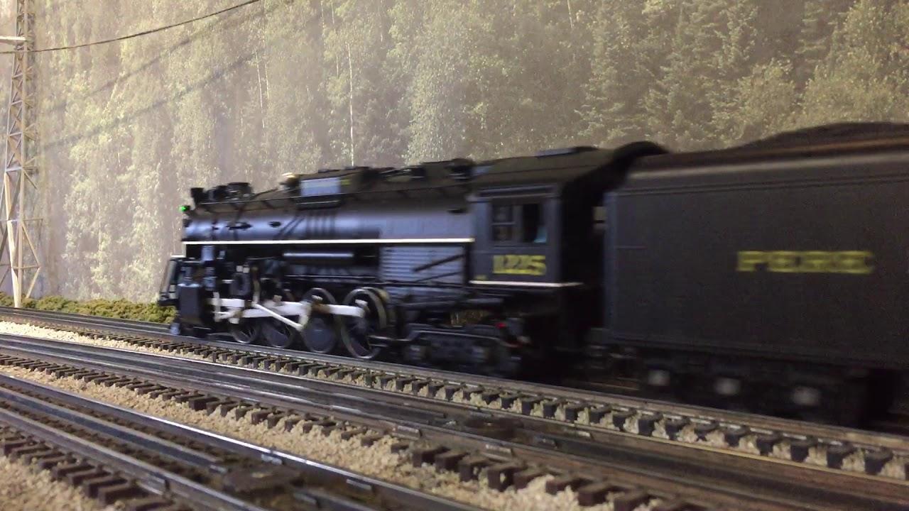 San Diego 3-Railers. Push-pull Coal Train