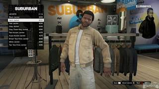GTA 5 - All Clothing Stores with Franklin (requested by: GianfrancoAlemandi)