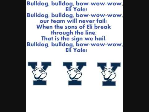 Yale Fight Song