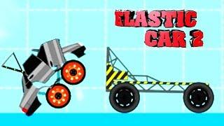 Эластичная тачка часть 2 - ELASTIC CAR 2 KIDS gameplay прохождение летсплей для детей про машинки