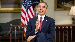 Weekly Address: Working Together on Behalf of the American People