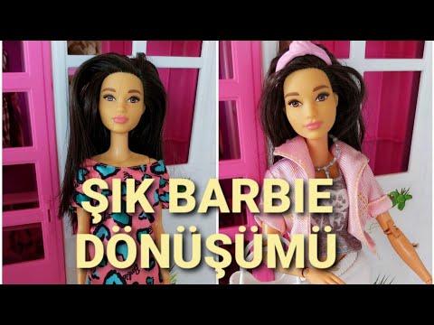 Barbie Sia Saç Tasarımı - Barbie Saçı Nasıl Boyanır - Kendin Yap - Oyuncak Yap