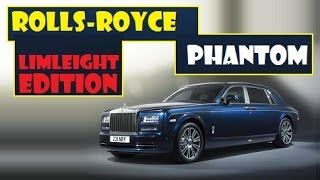 Rolls-Royce Phantom Limleight Edition, the world will only see 25 such this cars