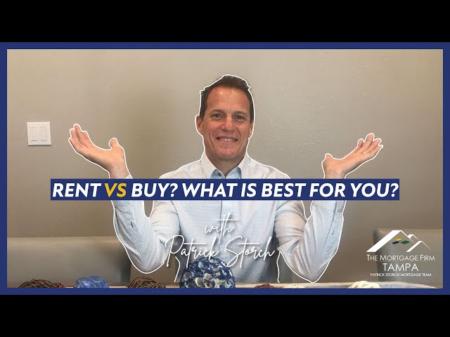 Rent VS Buy 🤷♂️ What is BEST for you?