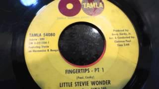 LITTLE STEVIE WONDER FINGERTIPS PART 1