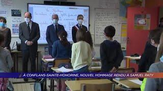 Yvelines | Nouvel hommage rendu à Samuel Paty à Conflans-Sainte-Honorine