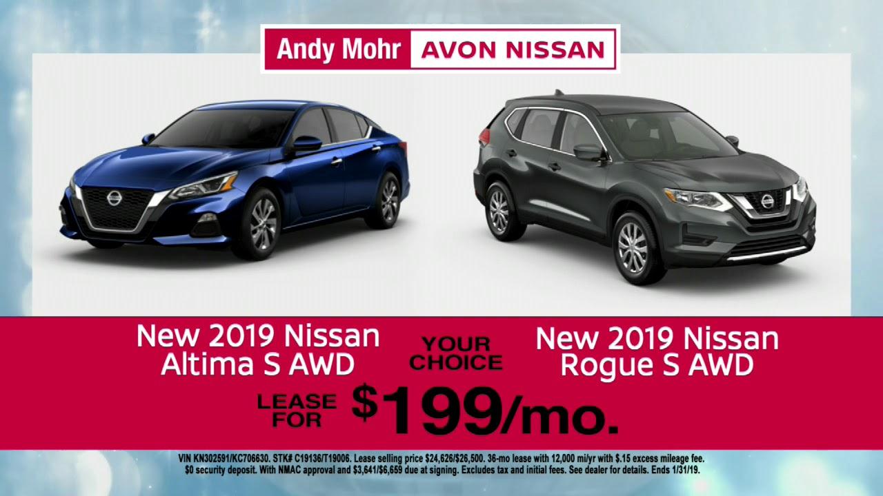Andy Mohr Nissan Avon >> New Year Price Drop Avon In Andy Mohr Avon Nissan