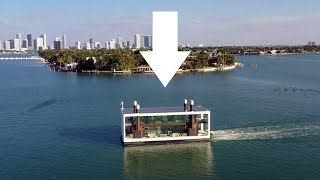 Someone Built a FLOATING HOUSE - Bizarre Homes
