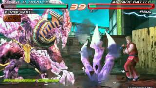 Tekken 6 Azazel Gameplay PC
