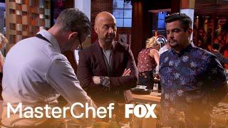 Joe And Aarón Are Not Impressed With Evan | Season 10 Ep. 7 | MASTERCHEF
