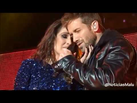 Malú Y Pablo Alborán Vuelvo A Verte 17 12 2016 Madrid Noticiasmalu Youtube