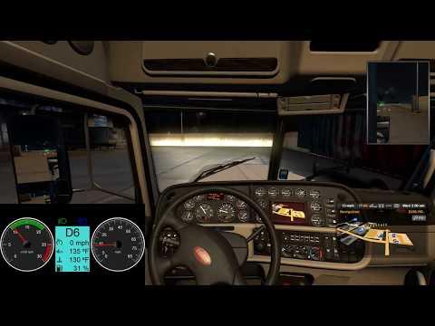 American Truck Simulator  Truck Dashboard