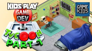 Game Dev Gameplay With Burnie And JD Part 1 - Kids Play