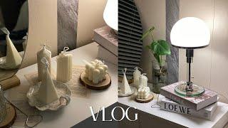 vlog. 이사 브이로그| 집꾸미기 인테리어 언박싱(일…