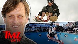 We Talk Celeb Skateboarders With Tony Hawk | TMZ TV