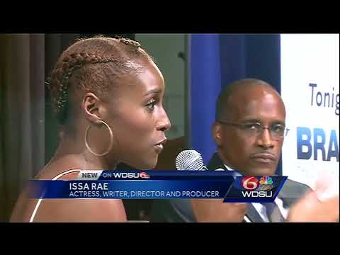 Issa Rae kicks off Dillard University's Brain Food Lecture Series