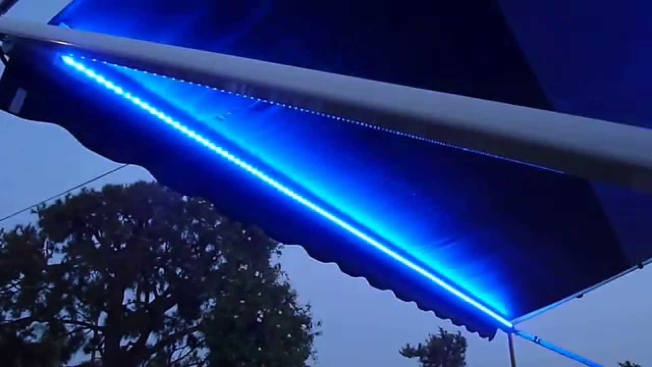Rv Lighting Led Strip Waterproof Multicolor Awning