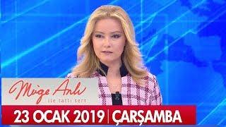 Müge Anlı ile Tatlı Sert 23 Ocak 2019 Çarşamba - Tek Parça