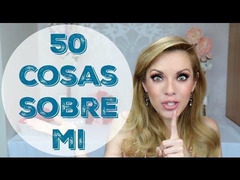 50 COSAS SOBRE MI Paola Herrera