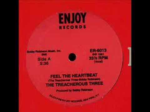 Treacherous Three - Feel the heartbeat - 1981