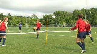 Inside the Lines: U.S. WNT Soccer Tennis in Foxborough, Mass.
