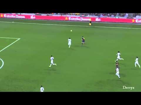 Xavi ball control vs Real Madrid