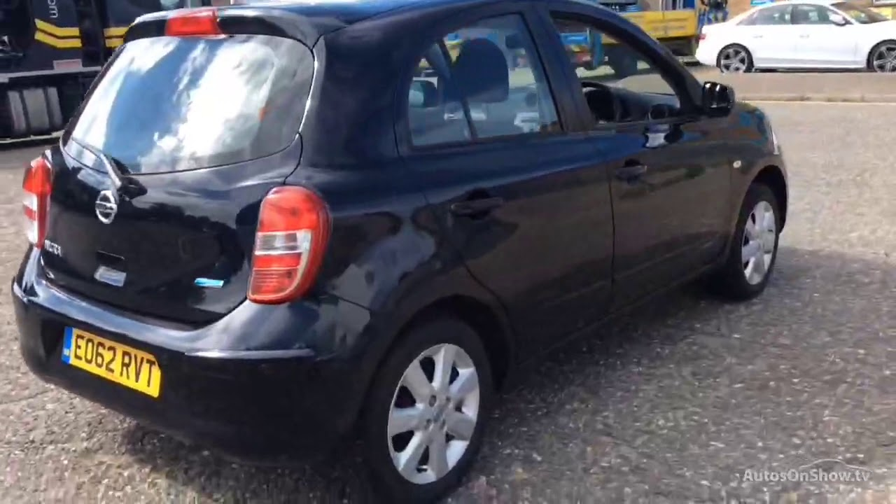 Nissan Micra Acenta Black 2012 Youtube