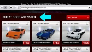 CHEAT CODE To Get Any Car For FREE! (GTA 5 Online Money Glitch) 100% legit 1.40