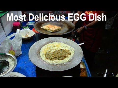 Most Delicious EGG Dish Recipe , Indian Street Food