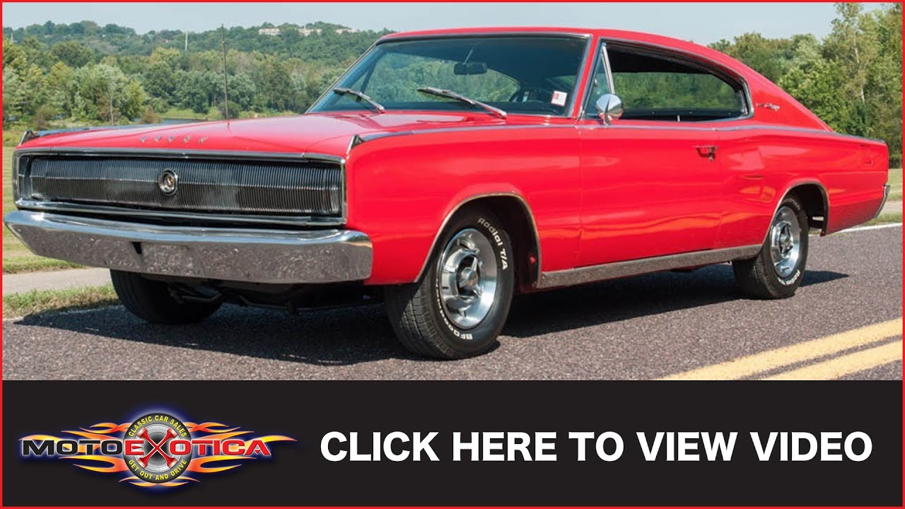 1967 dodge charger sold