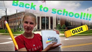 Back to SCHOOL SUPPLIES!!!