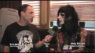 "Black Veil Brides ""Andy Six"" Biersack & Eric Blair talk Religion and Lady Ga Ga"