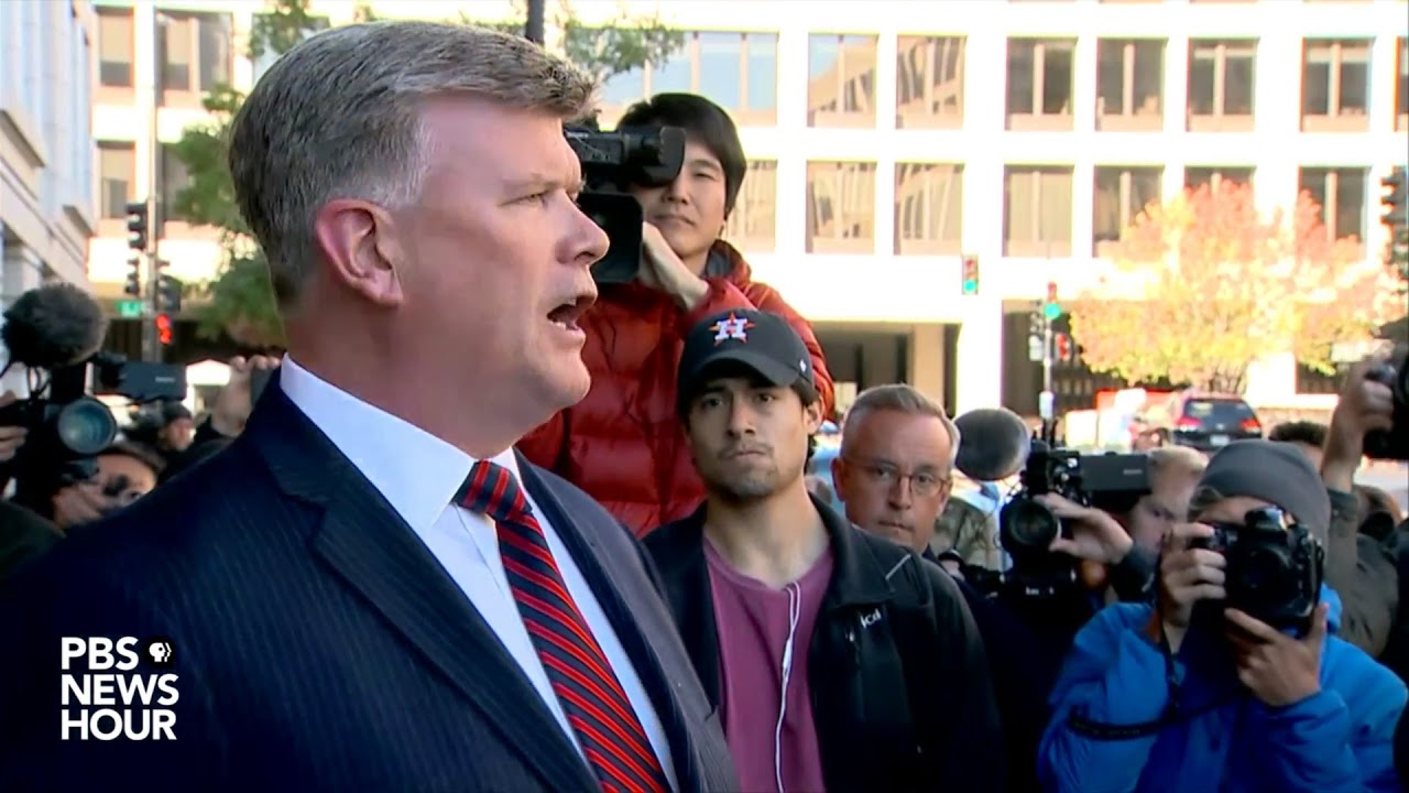 WATCH: Paul Manafort's attorney speaks to reporters
