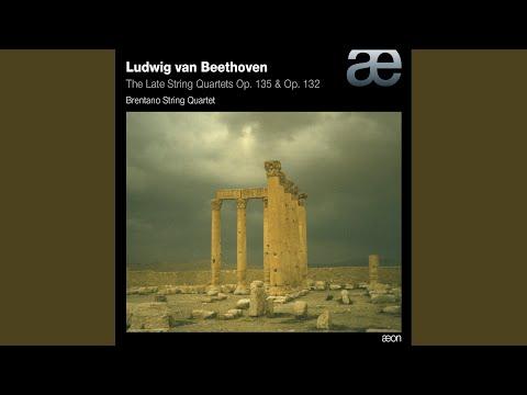 String Quartet No. 16 In F Major, Op. 135: IV. Grave, Ma Non Troppo Tratto - Allegro