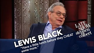 Lewis Black Rates Trump