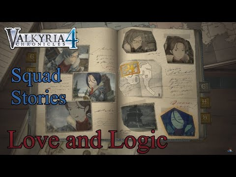 Valkyria Chronicles 4 - Squad Stories - Love and Logic