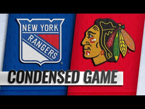 10/25/18 Condensed Game: Rangers @ Blackhawks