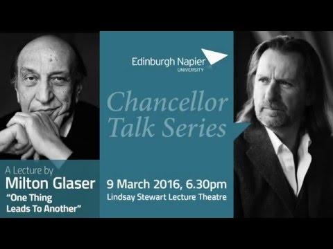 Chancellor Talk Series | Milton Glaser | March 2016