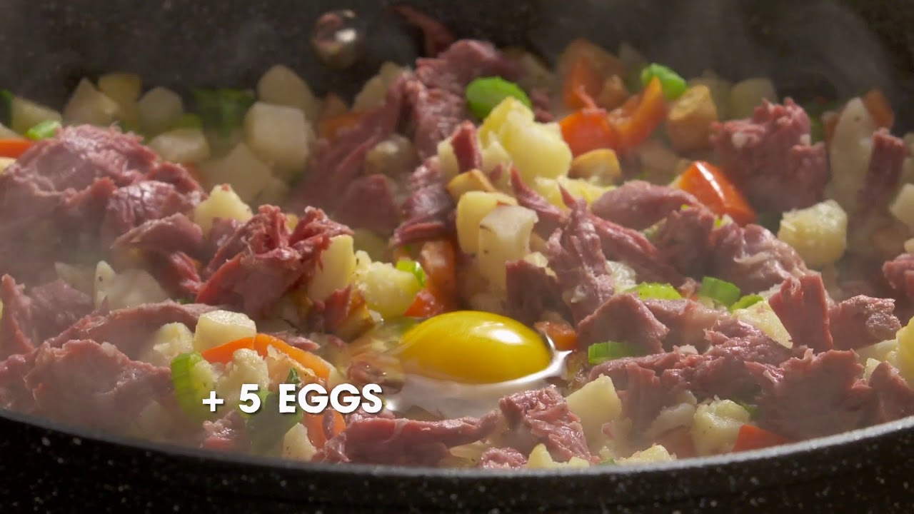 Corned Beef Leftover Hash - Good Food Fast