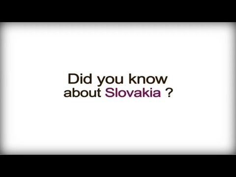 Did you know? - Slovakia - Slovak Business Culture video