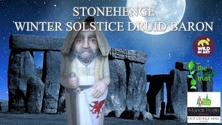 The Barons Charter Stonehenge Winter Solstice Druid by Mandii Pope