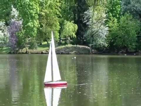 RC Segelboot Skandia Probefahrt.WMV
