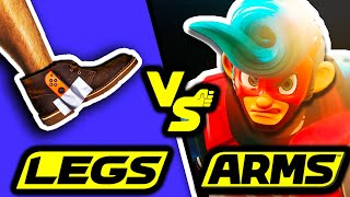 Can You Beat ARMS Using Only Legs? - No Arms Challenge